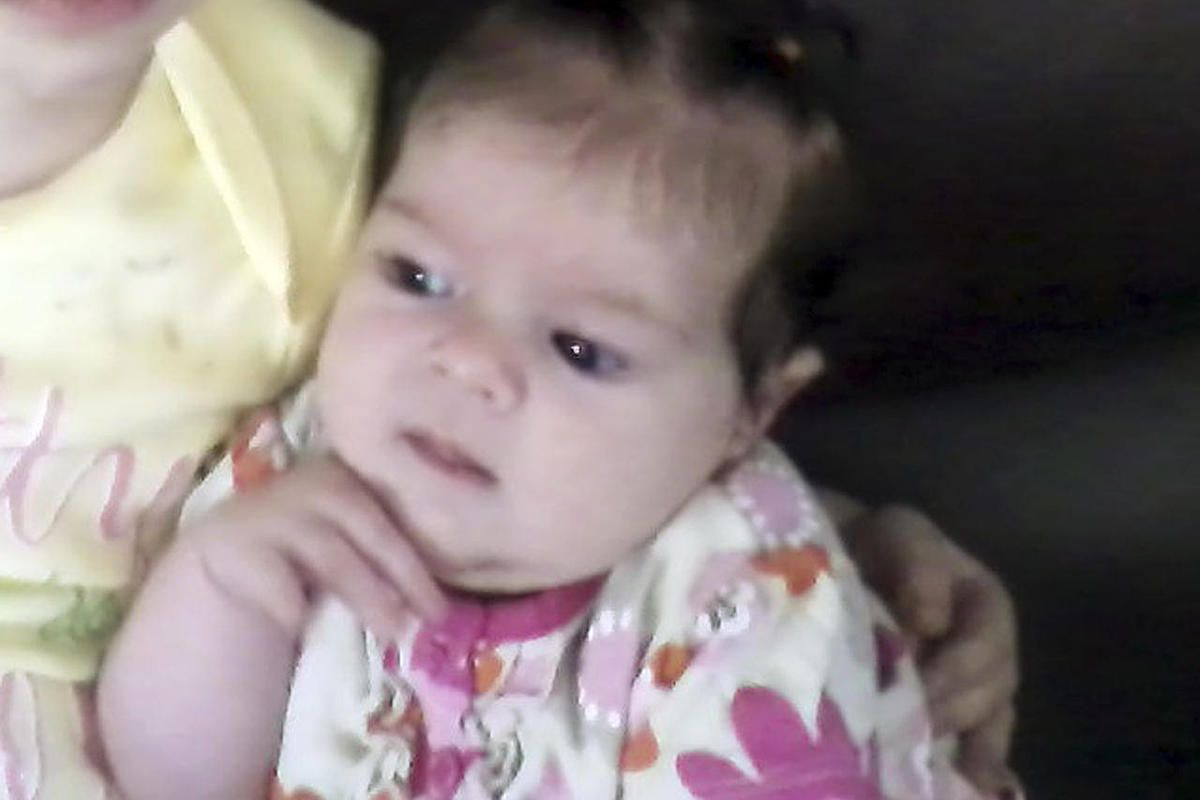 CORRECTS TO UNDATED PHOTO, NOT MAY 2012  PHOTO - This undated provided by Nicole Greenaway  shows her 3-month-old daughter, Brooklyn Foss-Greenaway, of Clinton, Maine, who died while in a babysitter's care on July 8, 2012. A 10-year-old daughter of the ca