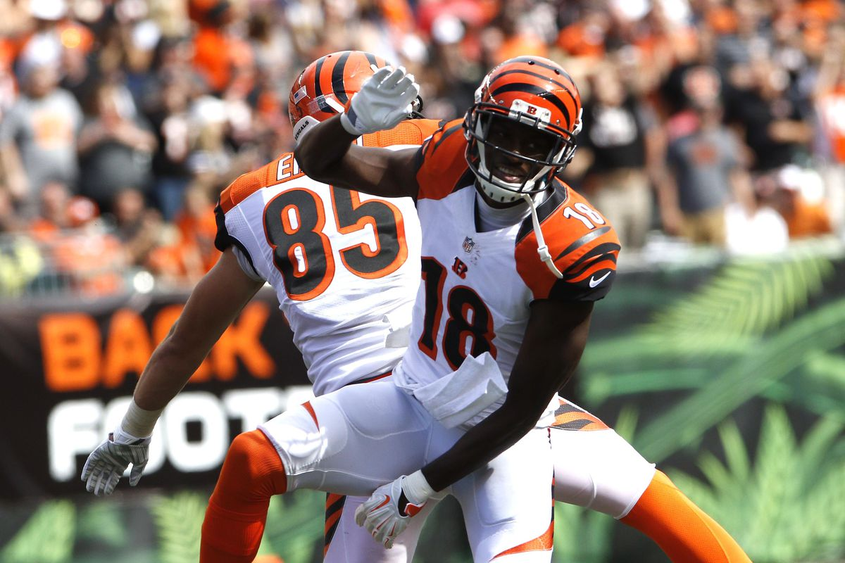 A J Green and Tyler Eifert rated NFL s best at their positions in