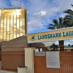 The Landshark Lagoon will be transformed into a beach club.