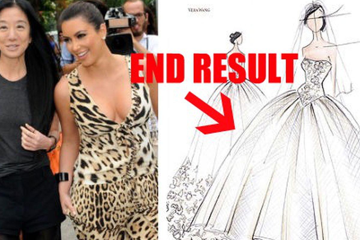 b19615d7dc Vera Wang Says Kim Kardashian Looked Like