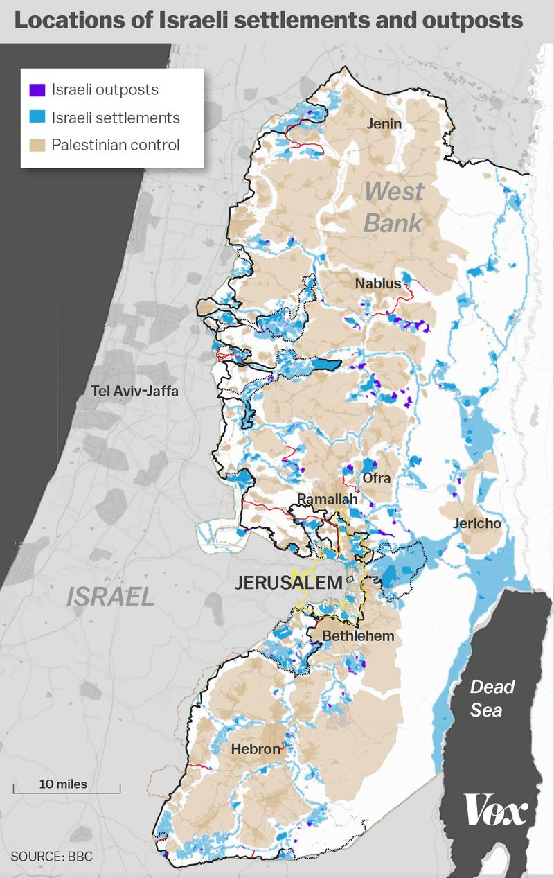 The growth of israeli settlements explained in 5 charts vox the following maps and charts show why the settlement issue is so explosive and why it wont be going away anytime soon gumiabroncs Gallery