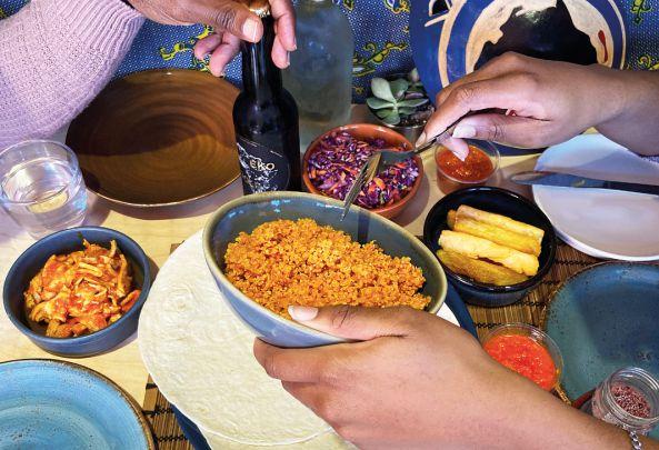 "Nigerian tapas restaurant Chuku's ""Chop Chat Chill"" kit"