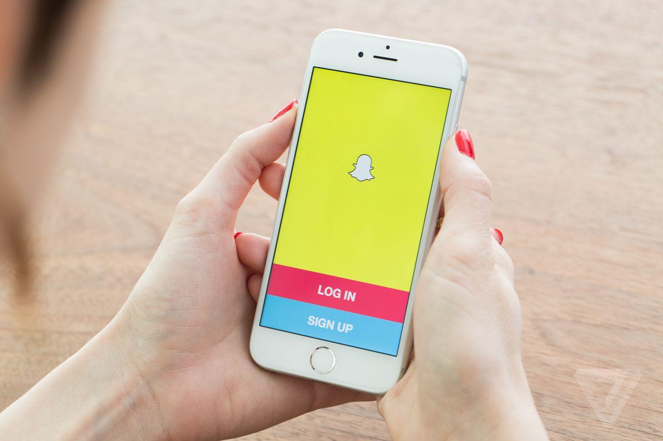 Snapchat stock image