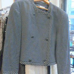 Vintage striped jacket, $120