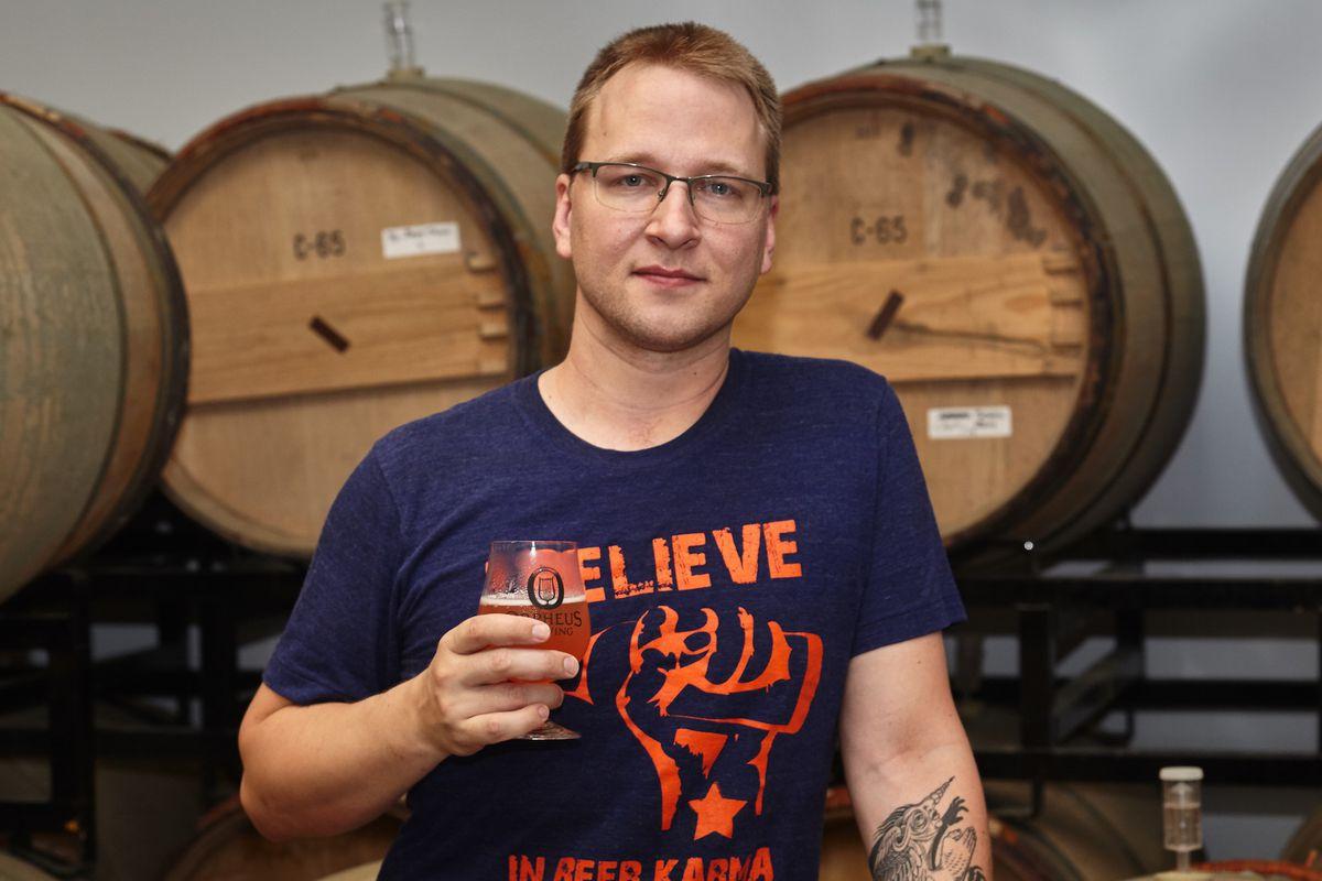 Orpheus Brewing founder Jason Pellett.