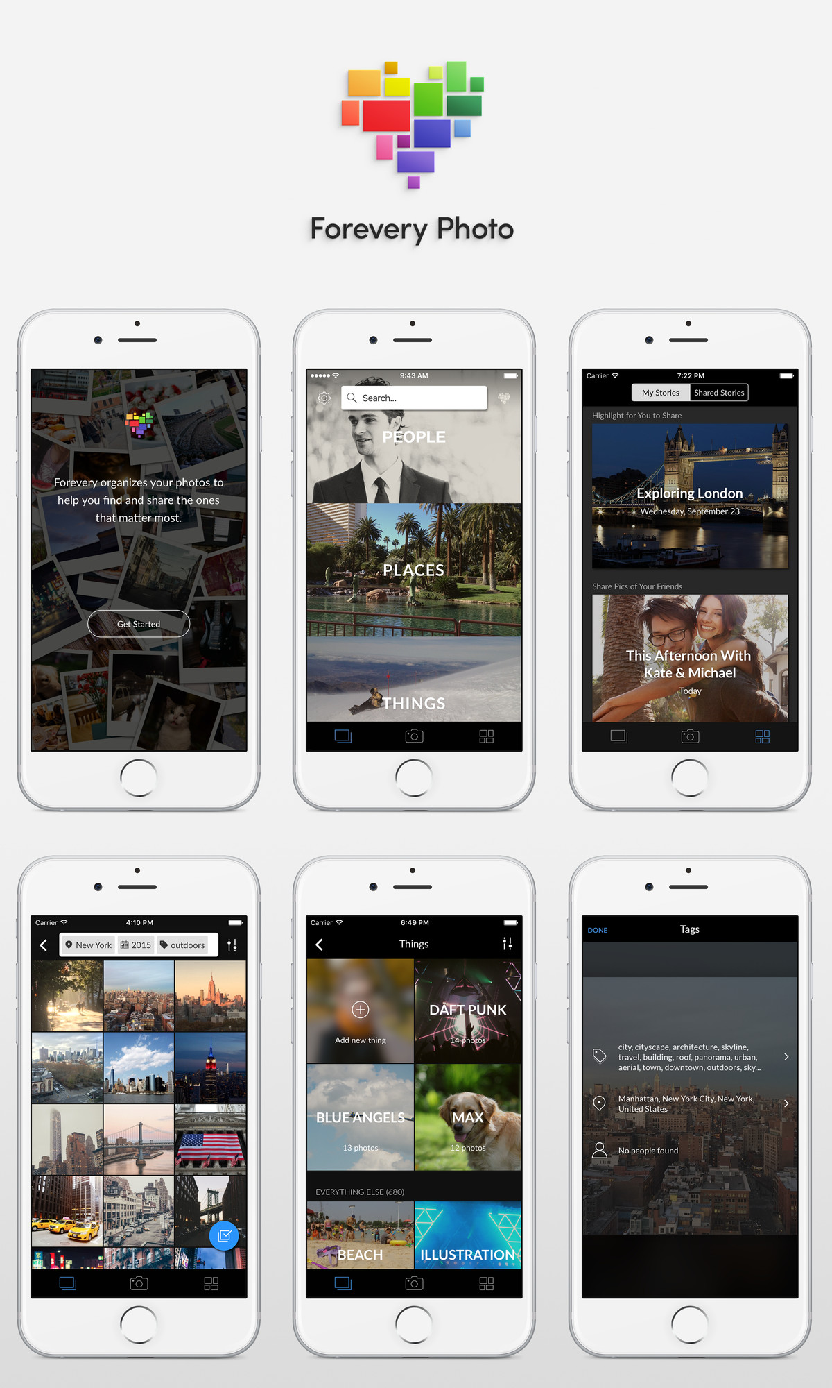 Forevery, a photo storage app from Clarifai