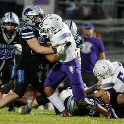 Tooele and Stansbury compete in a high school football gameat Stansbury High School in Stansbury Park on Friday, Sept. 17, 2021.