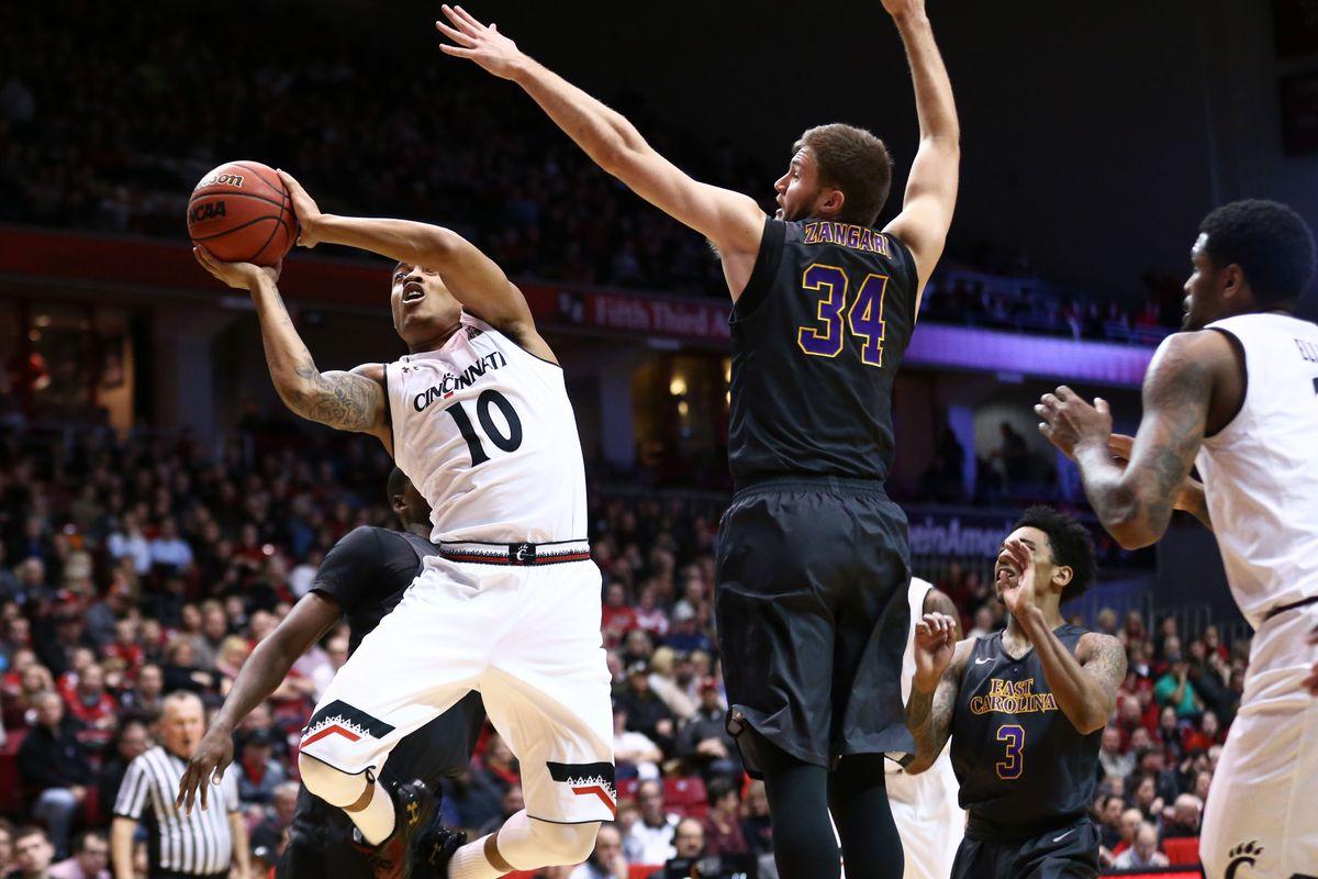 NCAA Basketball: East Carolina at Cincinnati