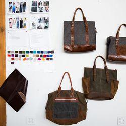 Men's bags.