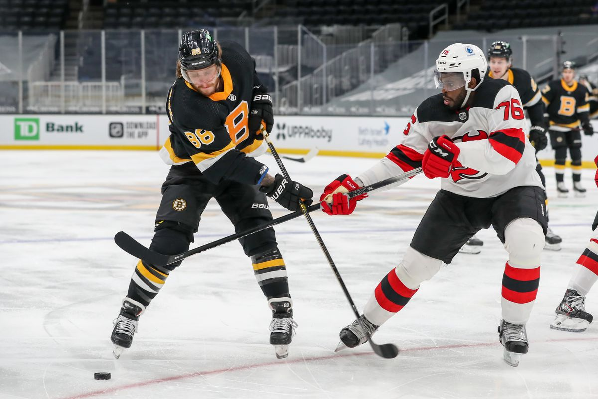 NHL: FEB 18 Devils at Bruins