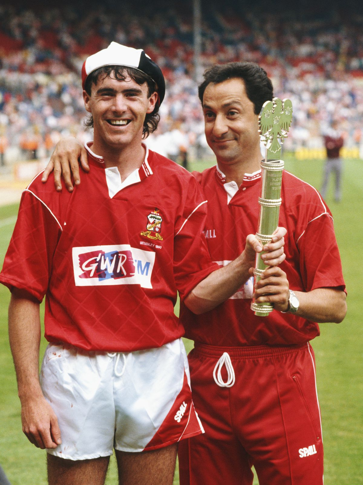 Swindon Town Division Two play off winners 1990