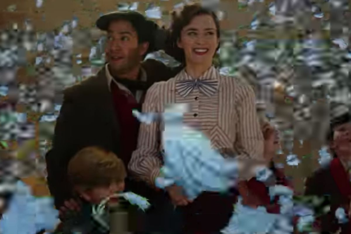 """Disney released the first official trailer for """"Mary Poppins Returns"""" on Monday, showing Emily Blunt as a kind-hearted woman with a bag full of tricks and a spoonful of sugar."""