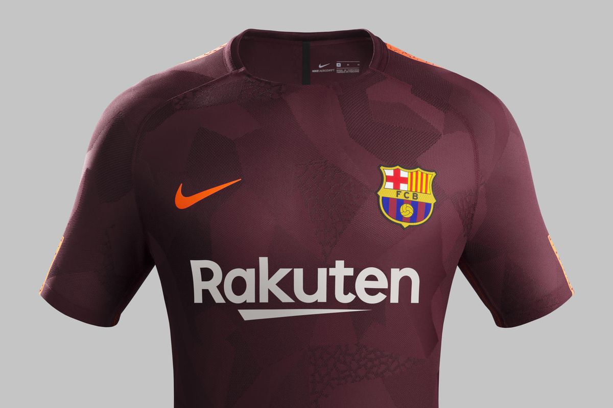 524f51b6d10 Nike. Barcelona just announced that their third kit ...