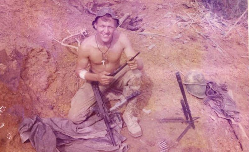 Jim Zwit in Vietnam.
