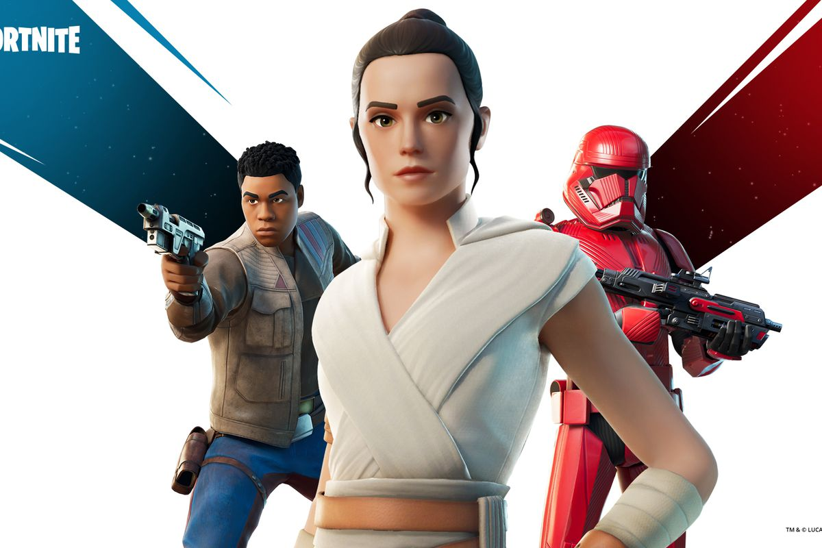 Star Wars The Rise Of Skywalker Rey And Finn Skins Come To