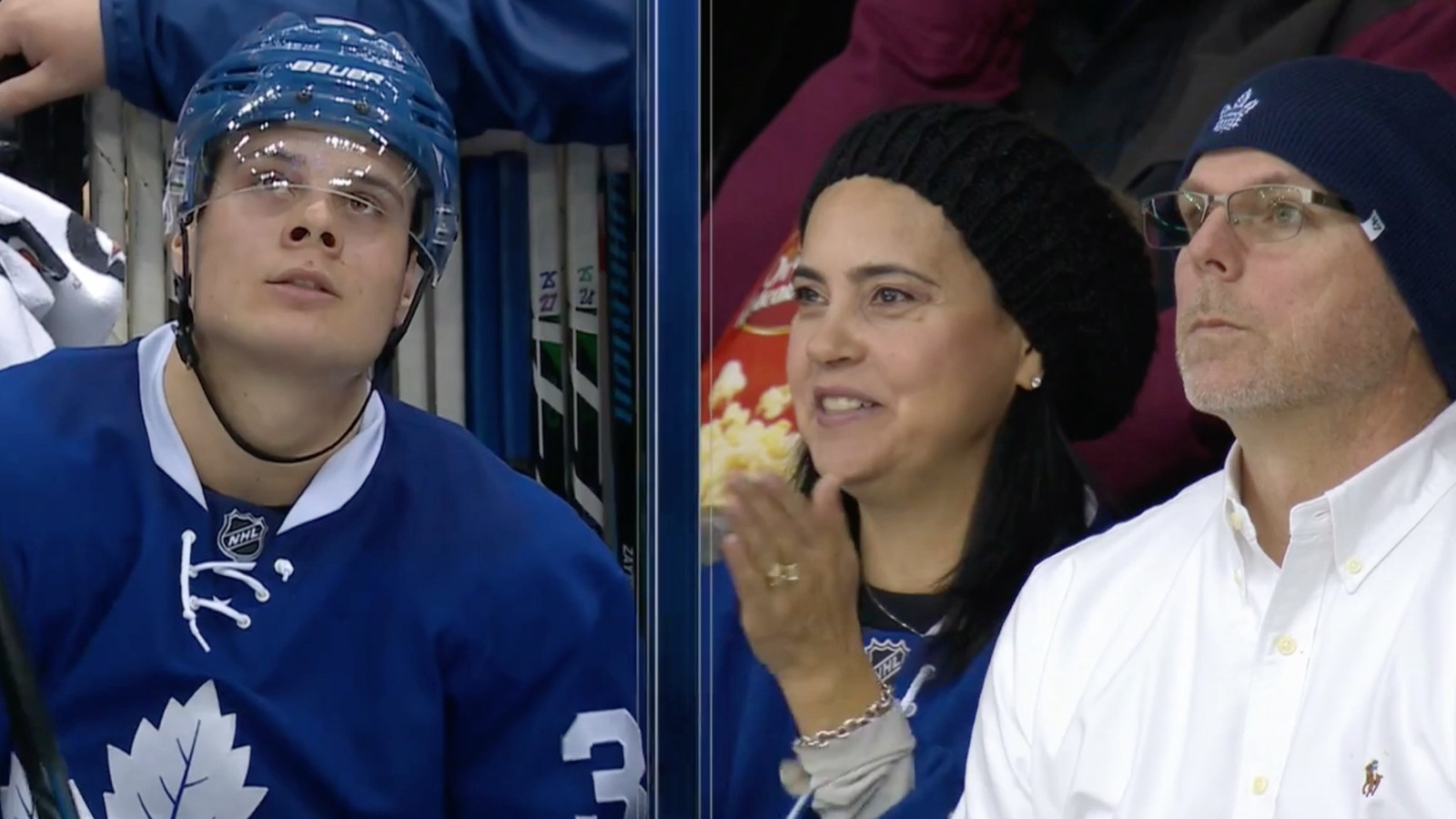 Auston Matthews scored against his hometown team, much to ...