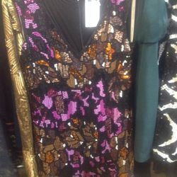 Tracy Reese 'Under the Disco Ball' shift, $220 (was $898)