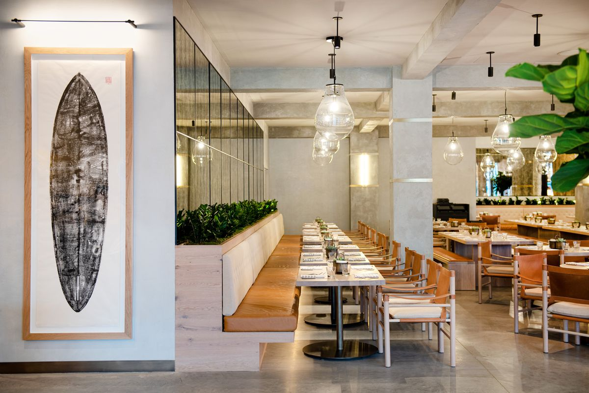 California Restaurant Malibu Farm Opens In The Seaport In Manhattan New York Eater Ny