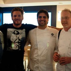 Chefs Todd Gray (Equinox, Watershed), Spike Mendelsohn (Good Stuff Eatery, We The Pizza), Victor Albisu (BLT Steak) and Brian McBride (Blue Duck Tavern).