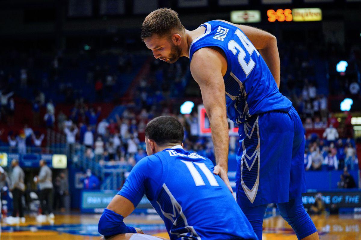 NCAA Basketball: Creighton at Kansas