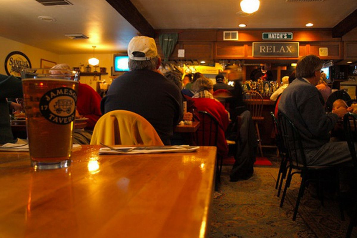 The Tap Room at Jameson Tavern