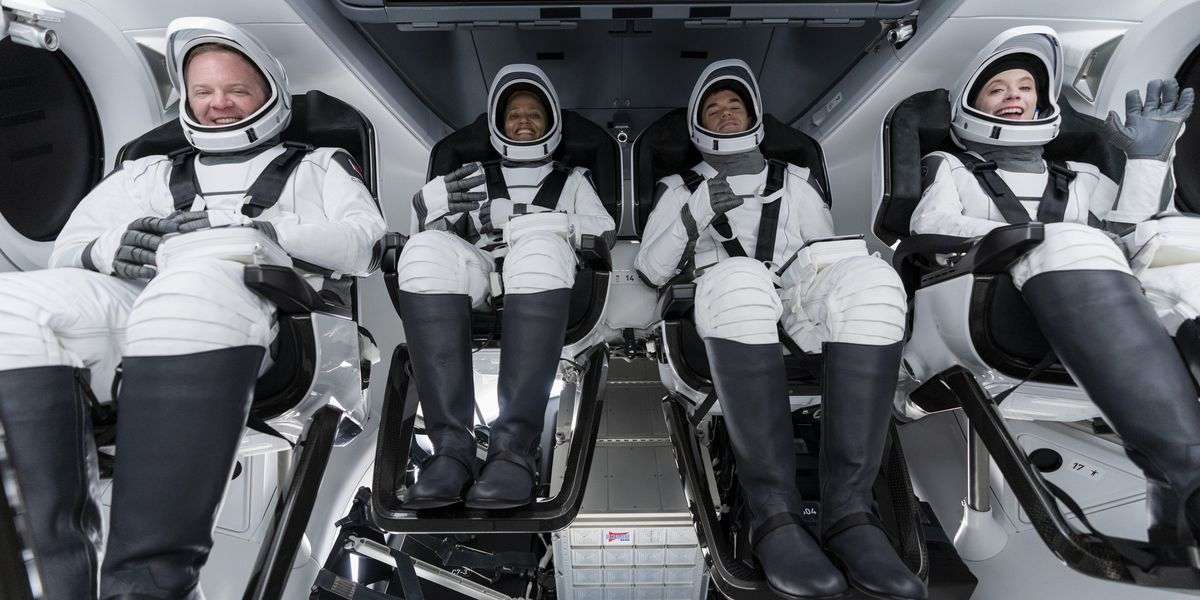 SpaceX is about to send its first crew of private citizens to space