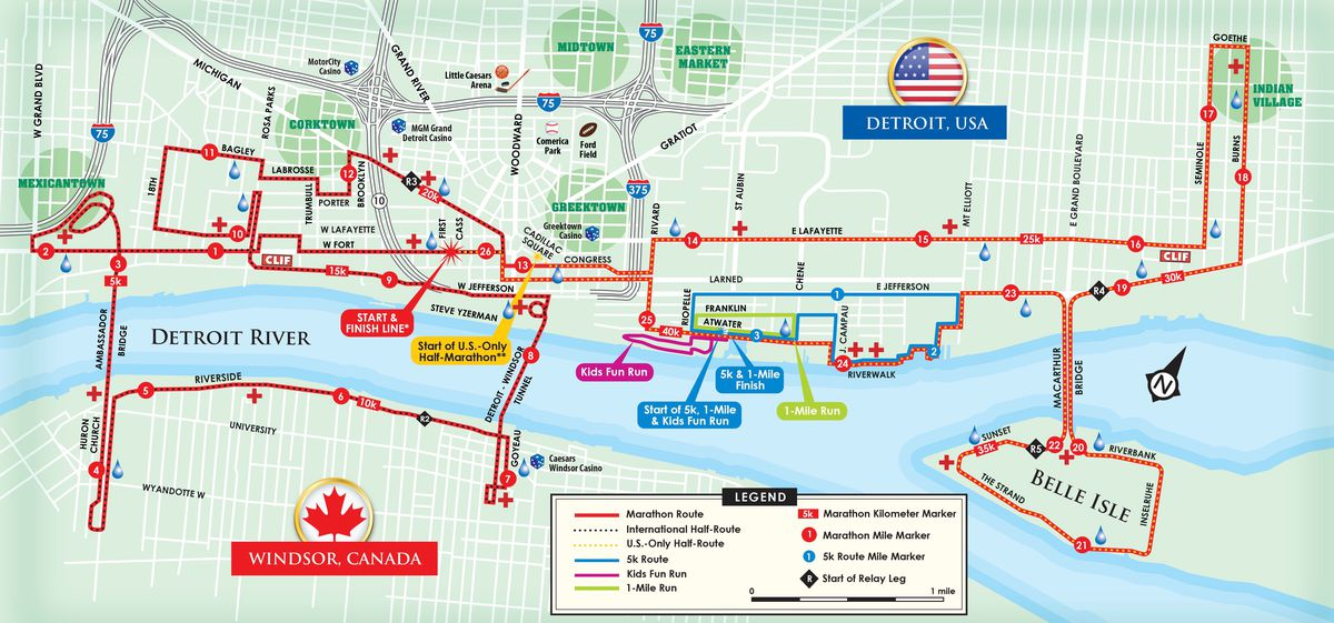Detroit Marathon 2019: Everything you need to know about the ...