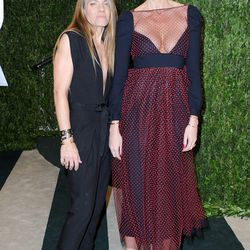Maybe Jenna Lyons (with girlfriend Courtney Crangi) should stick to jeans and button-down shirts.