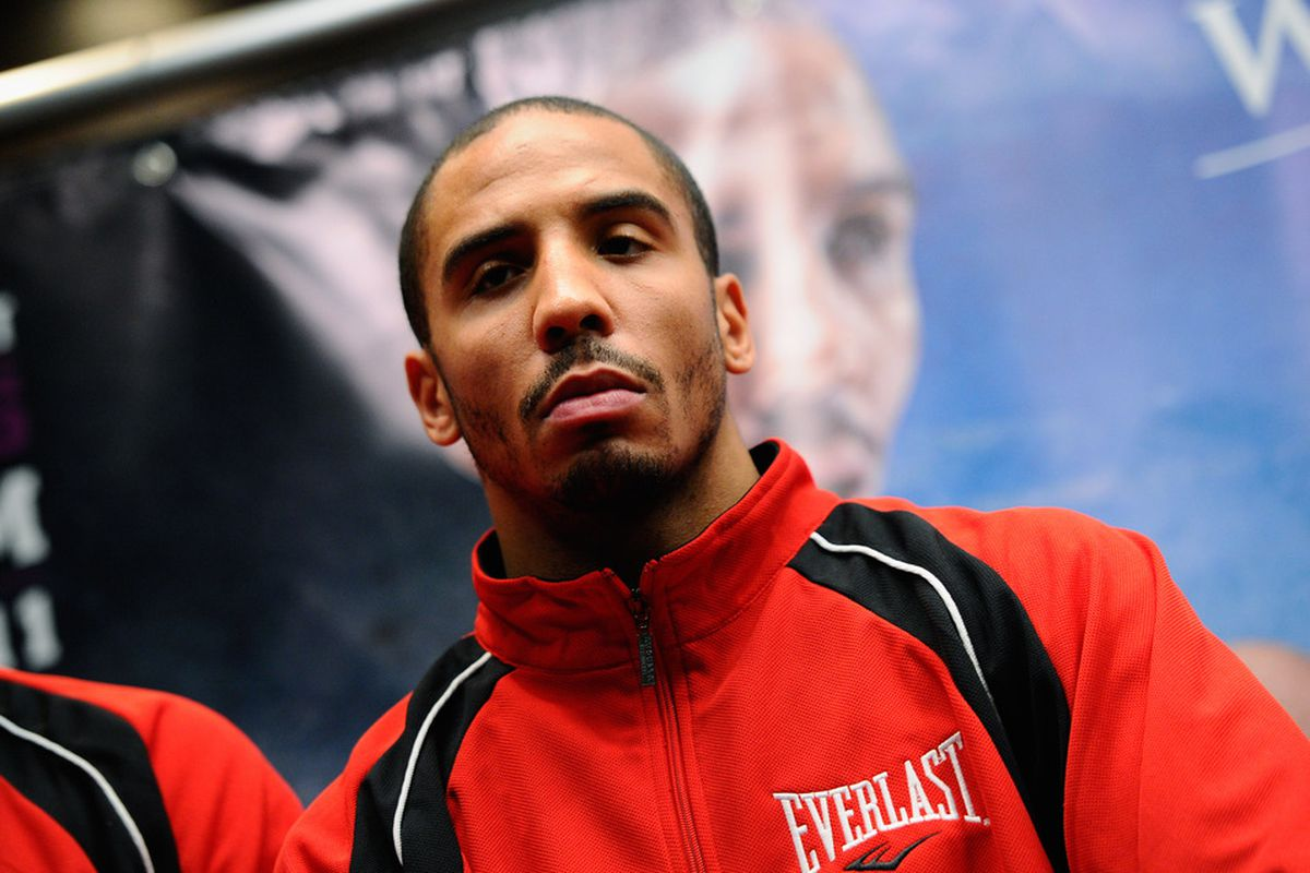 Andre Ward isn't worried about traveling to Atlantic City to face Carl Froch. (Photo by Kevork Djansezian/Bongarts/Getty Images)