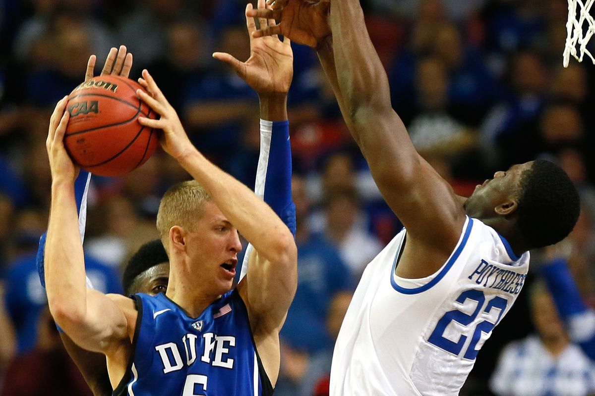 Mason Plumlee's savvy post play, along with Duke's 3-point shooting, doomed the Wildcats.