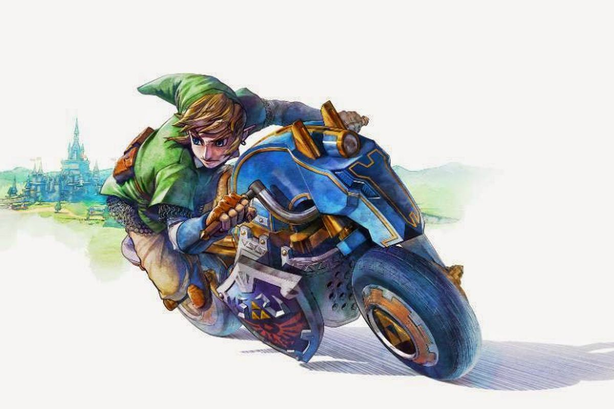 Master cycle from mk8 over master cycle zero the legend of zelda breath of the wild wiiu - How do you get the master cycle zero ...