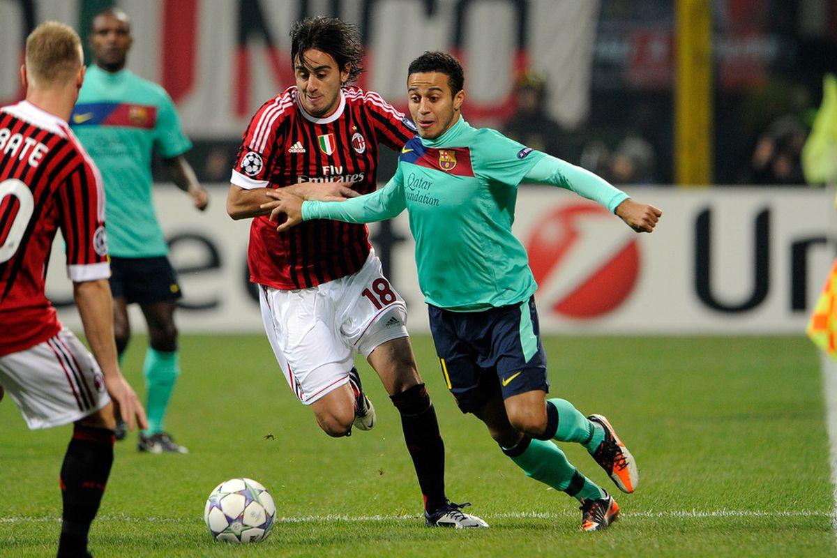 Uefa Champions League Fc Barcelona Vs Ac Milan Tactical Analysis Barca Blaugranes
