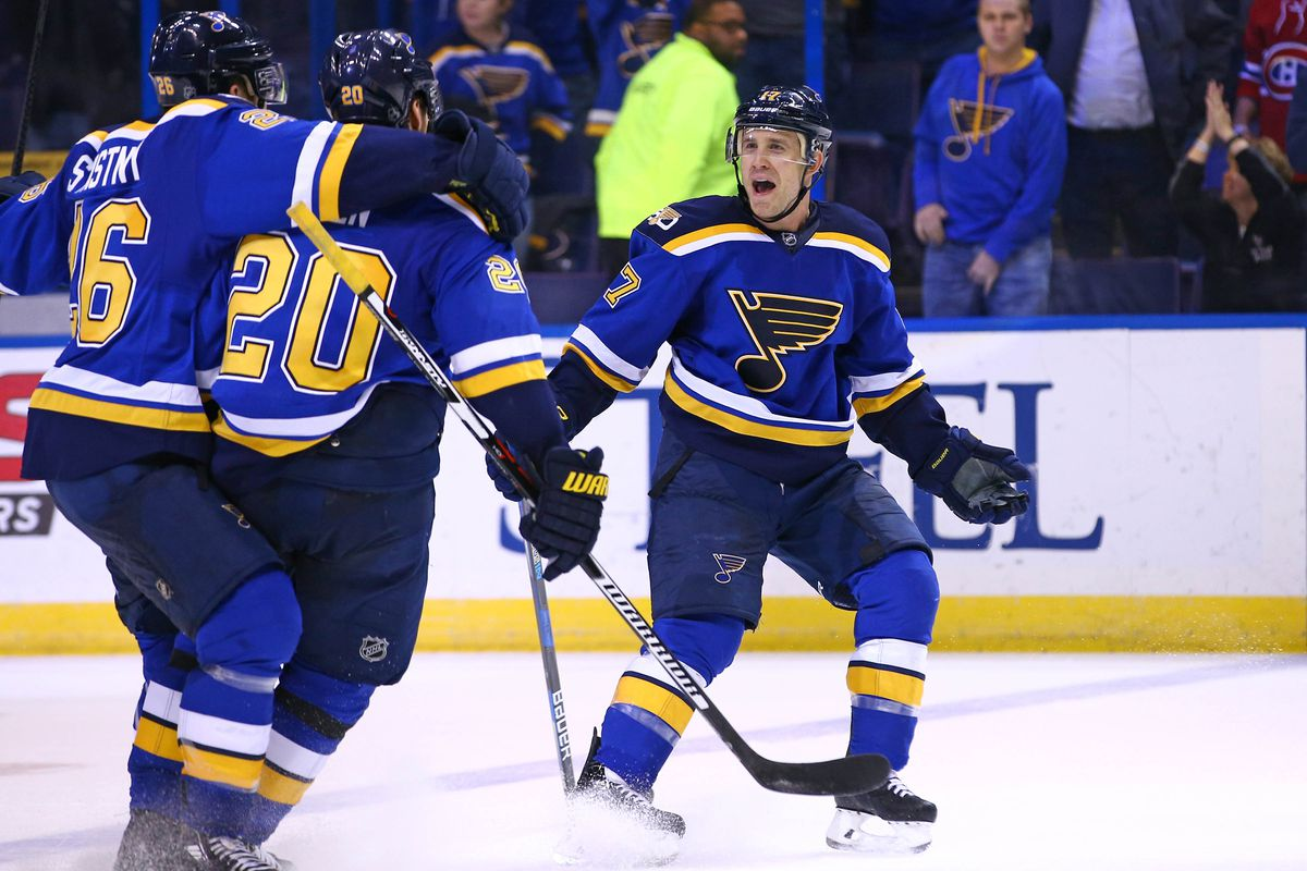 NHL: Montreal Canadiens at St. Louis Blues