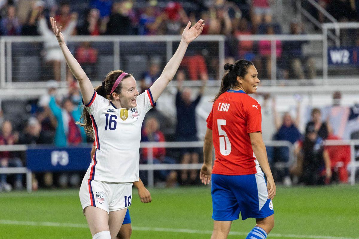 Soccer: USWNT International Friendly Match-Paraguay at USA