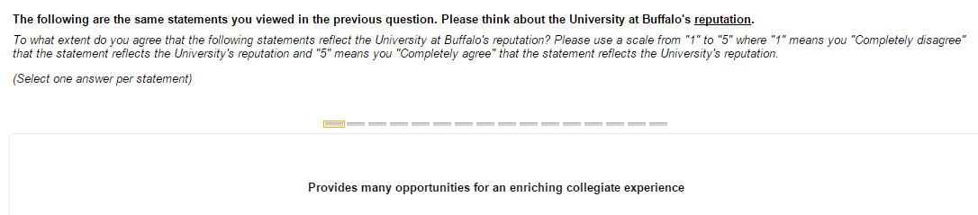 ub survey 5