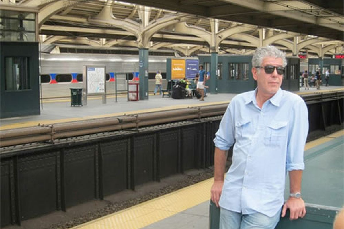 Anthony Bourdain made Philly proud.