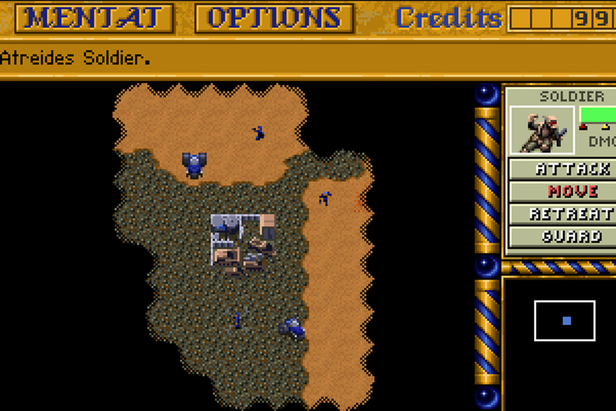 HTML5 port puts 'Dune II' in your browser - The Verge