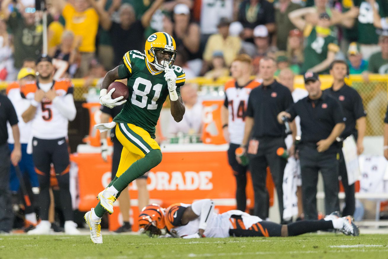 Packers best plays of 2017, No. 6: Rodgers finds Allison in OT to set up game-winner
