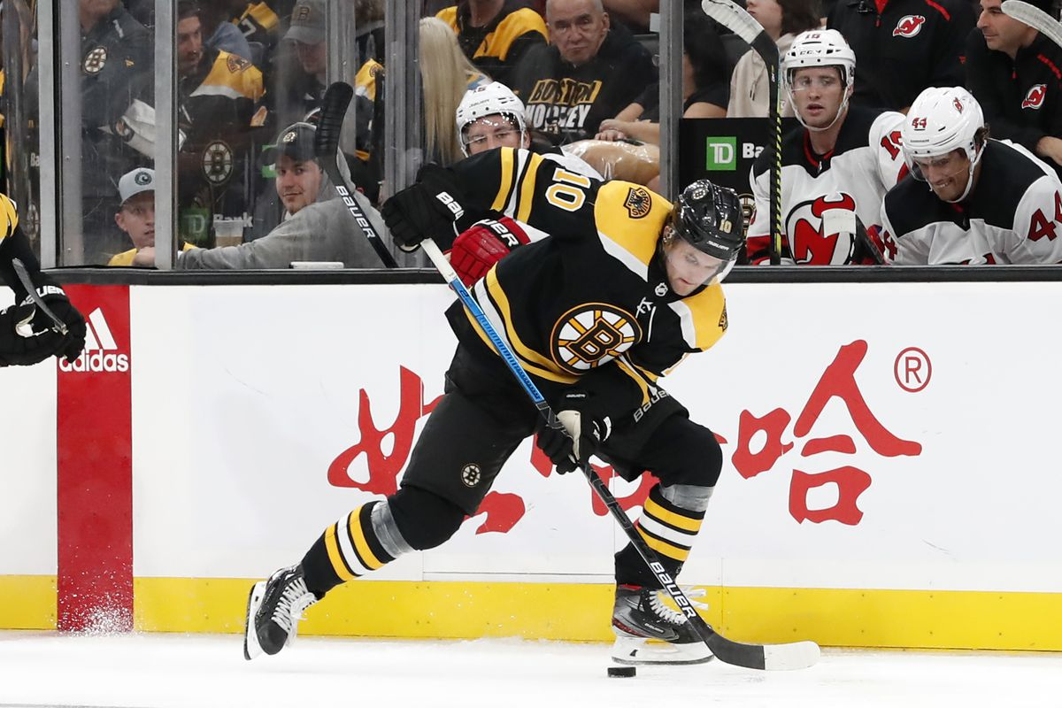 NHL: SEP 25 Preseason - Devils at Bruins