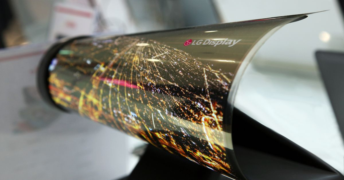 Ces 2016 18 inch rollable oled.0.0.0