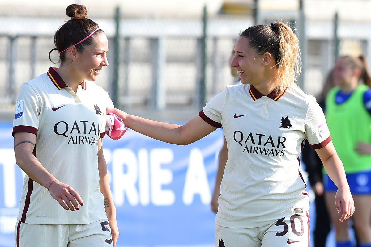 Football Serie A Woman AS Roma-San Marino Academy