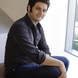 In this photo taken Thursday April 26, 2012, Dustin Moskovitz co-founder of the collaborative software companay Asana, poses outside of his office in San Francisco. Facebook co-founder and former Mark Zuckerberg roommate Dustin Moskovitz is by many accounts the world's youngest self-made billionaire. But the 27-year-old isn't sipping champagne in the Caribbean. Instead he's thrown himself back into San Francisco's startup churn with an online collaboration app he says will become the world's next $100 billion company.
