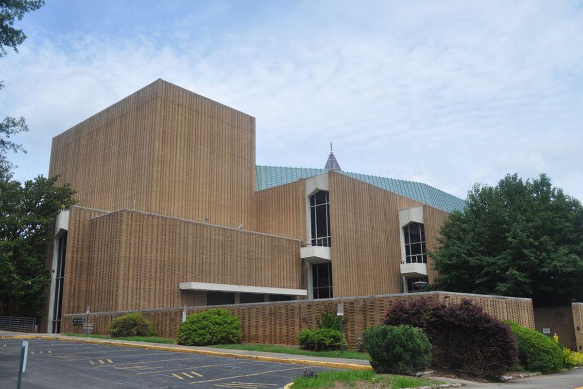 A photo of the Atlanta Civic Center site.