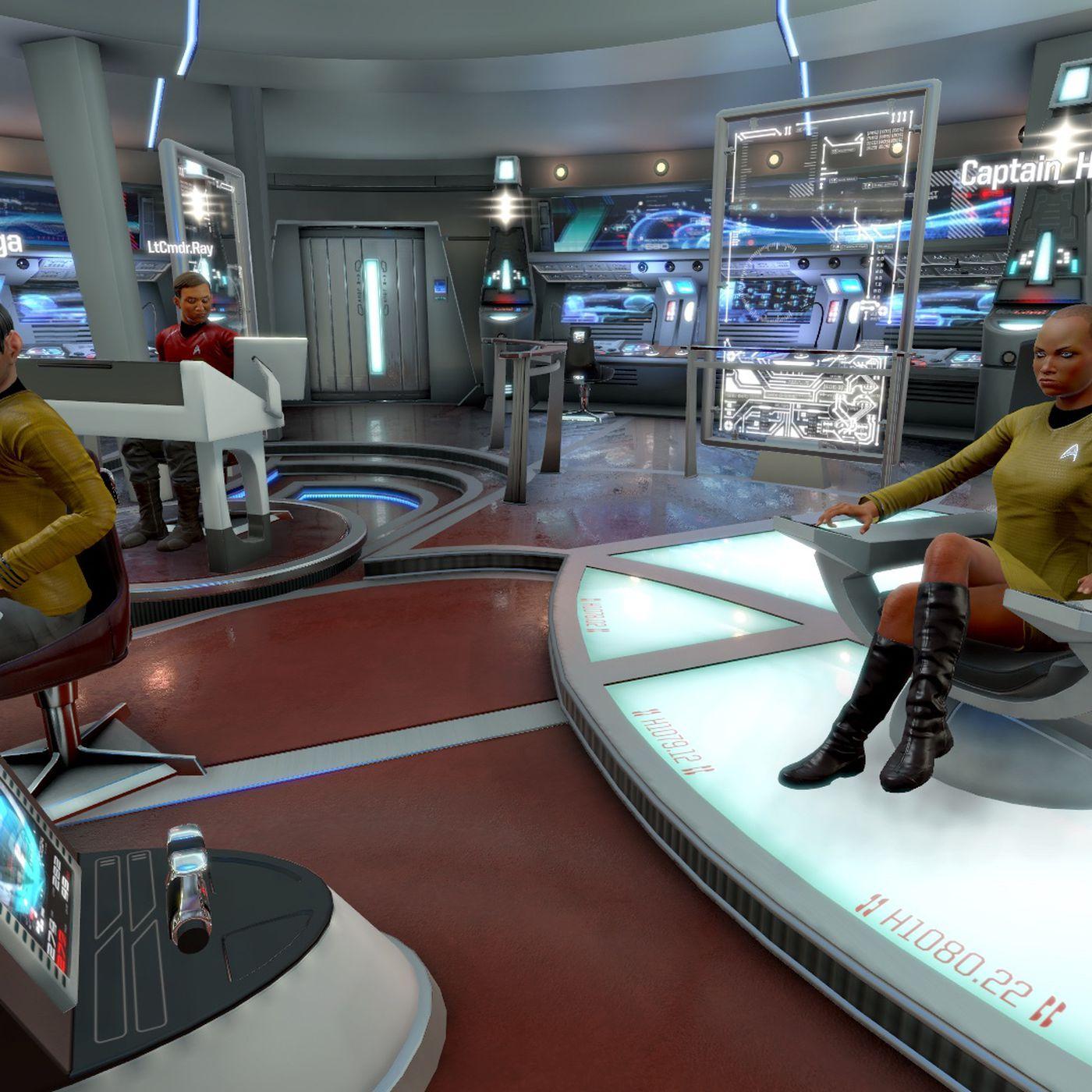 Star Trek: Bridge Crew no longer requires VR - Polygon