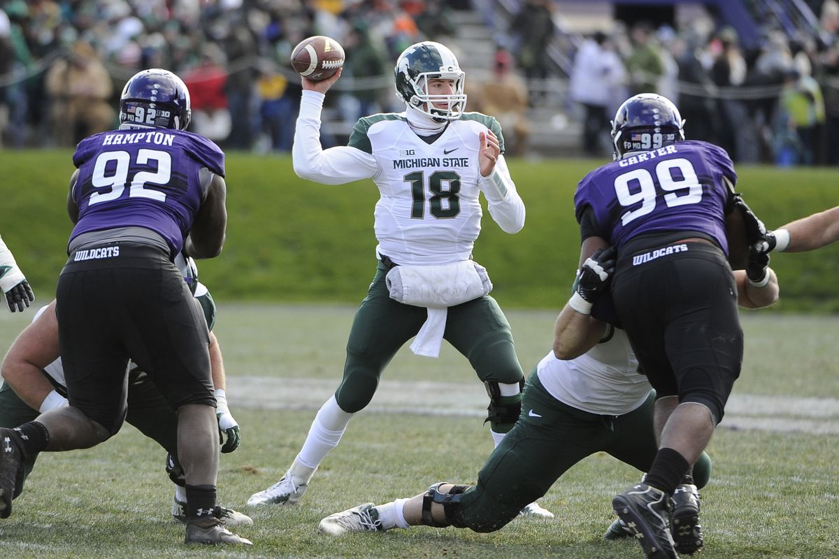 It was a big Sparty party in Evanston on Saturday.