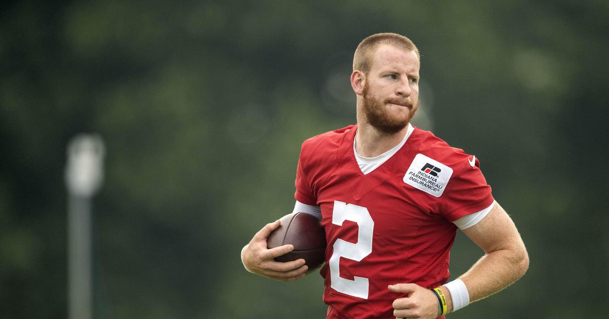 Carson Wentz's vaccination status could have a big impact on the Eagles