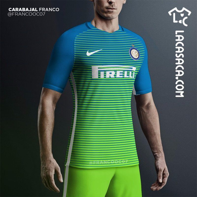 promo code c0936 67b94 Inter's peculiar 2016-17 third kit leaked online - Serpents ...