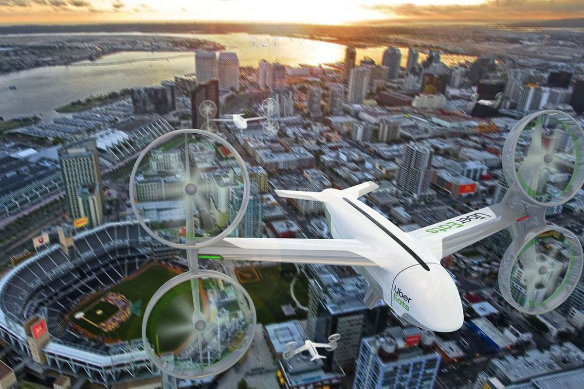 Uber says it will start delivering fast food by drone in San
