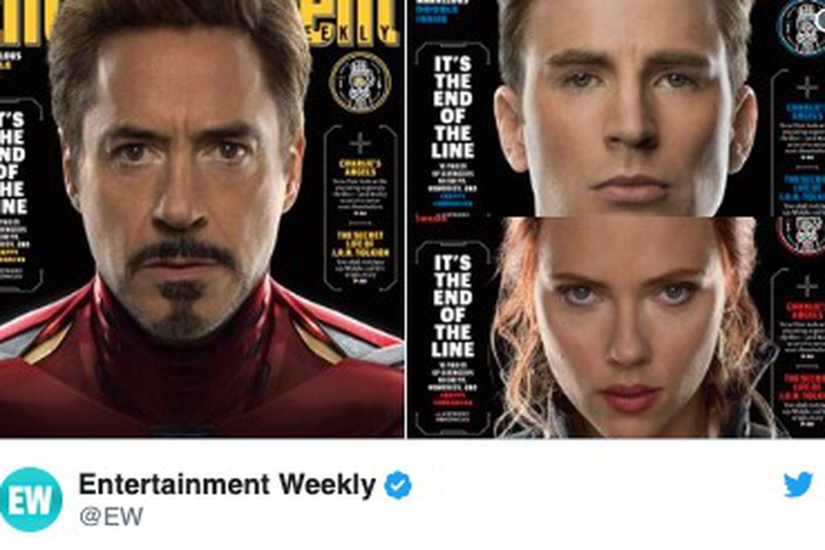 """""""Avengers: Endgame"""" is coming out in two weeks, and Entertainment Weekly has released its covers for the film."""