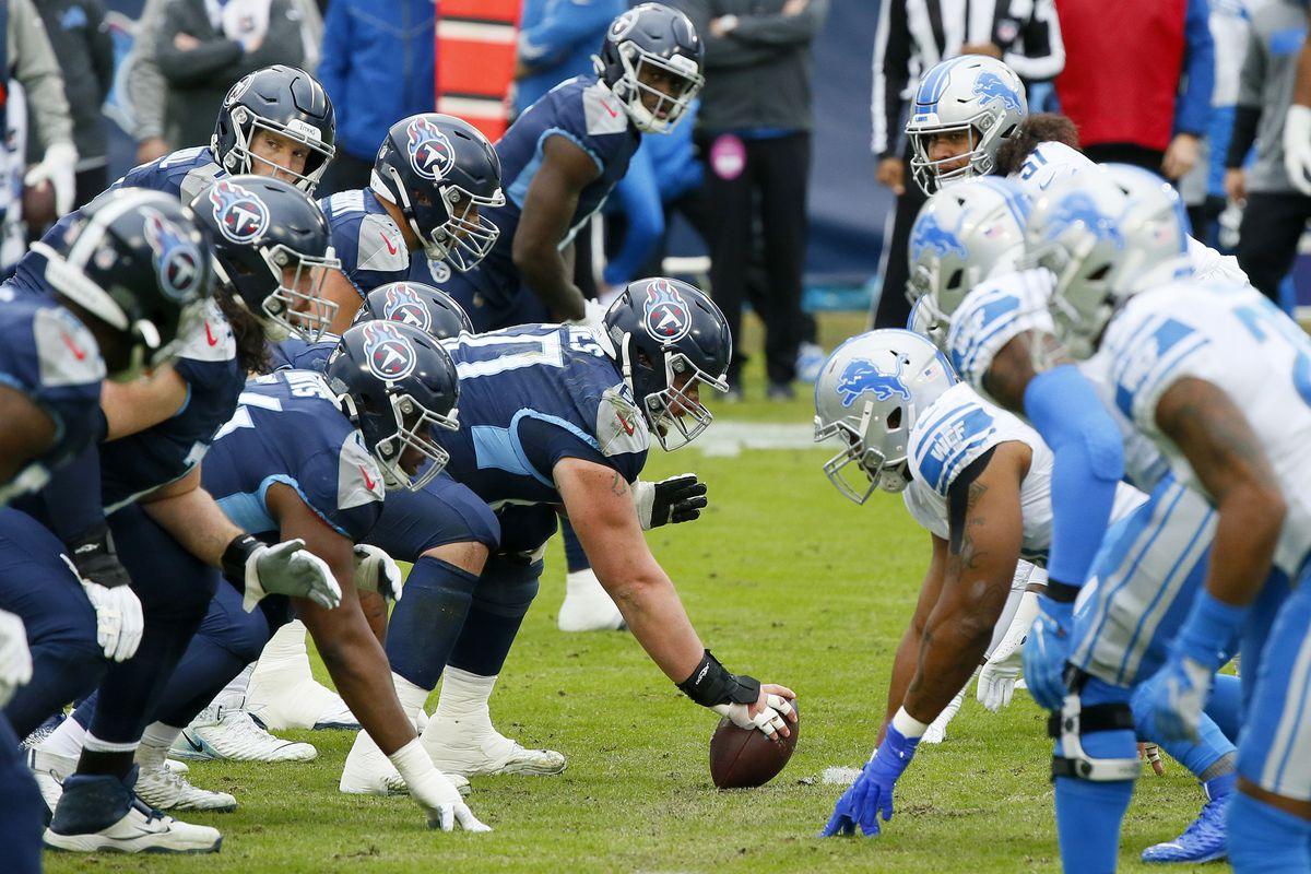 Detroit Lions v Tennessee Titans